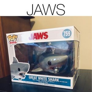 JAWS with tank POP Figure